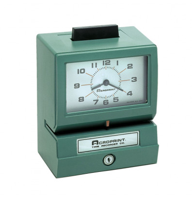 Acroprint Model 125 Manual Punch Time Recorder