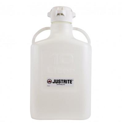 Justrite Polypropylene Carboys (2.6 Gallon Model Shown)