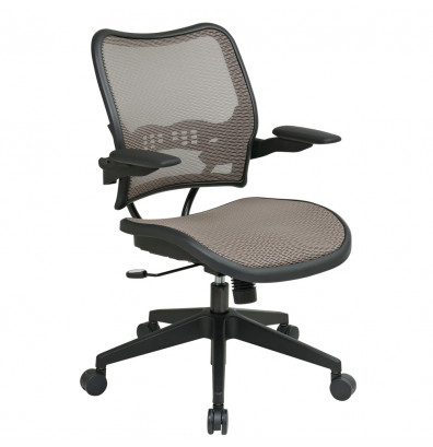Office Star Space Seating Deluxe AirGrid Mesh Mid-Back Task Chair