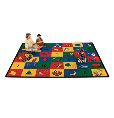 Carpets for Kids Blocks of Fun Classroom Rug