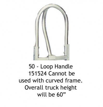"Wesco 50 Extended 60"" Loop Handle for Straight Frame only"