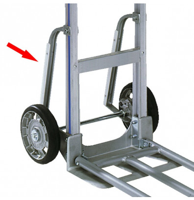 Wesco S4K StairClimber Steel Pair with Wearstrips, Kit