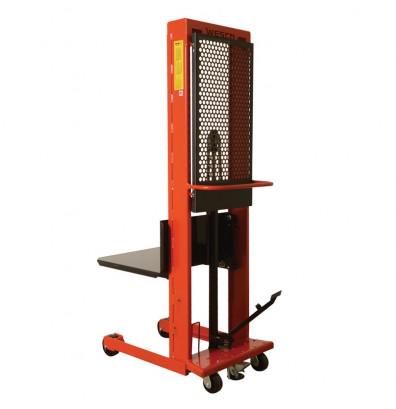 """Wesco SPL803032 Large Standard Platform 80"""" Lift Height Stacker (Lift Equipment)"""