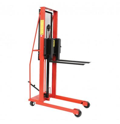 "Wesco ESFL-64-25 Economy 64"" Lift 1000 lb Load Manual Hydraulic Fork Stacker"