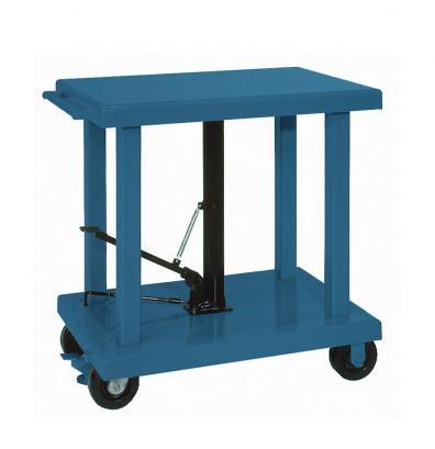 "Wesco LT-60-2436 6000 lb Load Heavy Duty 24"" x 36"" Hydraulic Lift Table"