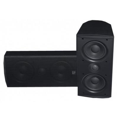 "MTX Audio MP52B Dual 5"" Woofer Home Theater Speaker, Black"