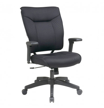 Office Star Space Seating Professional Mesh Mid-Back Executive Office Chair