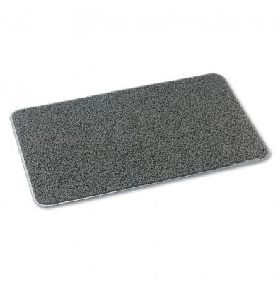 3M Dirt Stop 4' x 6' Vinyl Back Scraper Floor Mat, Slate Gray