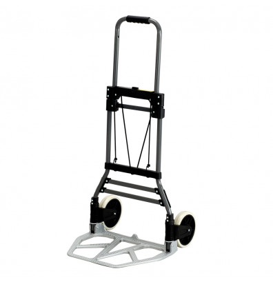 Safco Stow-Away 275 lb Load Aluminum Folding Hand Truck