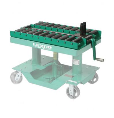 """Lexco SP-7426 Manual Push-Pull Die Handling Conveyor 36"""" x 24"""""""
