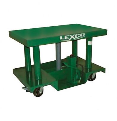 "HT-3045-20 5,000 lbs Capacity 48"" x 30"" Lexco Hydraulic Lift Table (Lift Equipment)"
