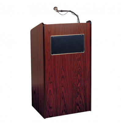Oklahoma Sound Aristocrat Sound System Lectern (Mahogany)