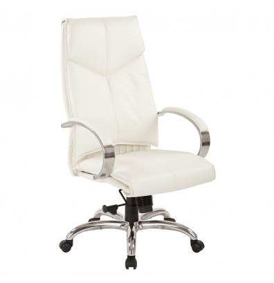 Office Star Deluxe Leather High-Back Executive Office Chair (Model 7270)