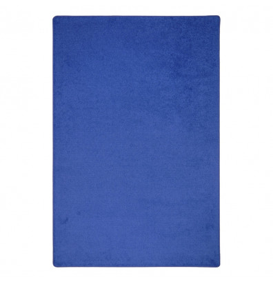 Joy Carpets Endurance Solid Color Classroom Rug, Royal Blue