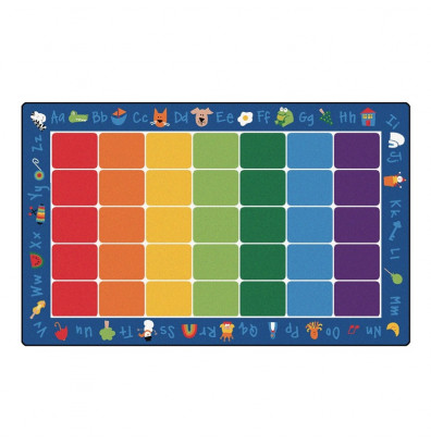 Carpets for Kids Fun with Phonics Seating Classroom Rug