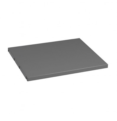 """Tennsco MBS-1524 15"""" W Extra Shelf for Left Side of Cabinet (Shown in Medium Grey)"""