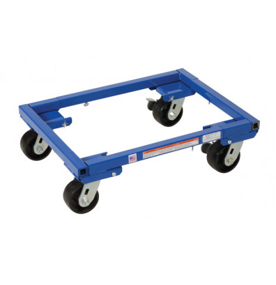 Vestil ATD-1622-4 Adjustable Tote 2000 lb. Steel Dolly