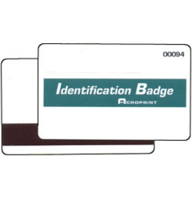 Acroprint TQ600M Magnetic Stripe Badges, numbered 16 - 50