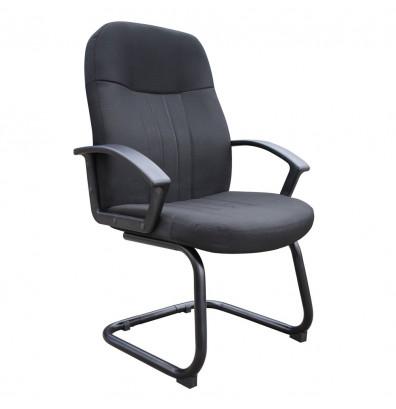 Boss B8309 Ergonomic Fabric High-Back Guest Chair