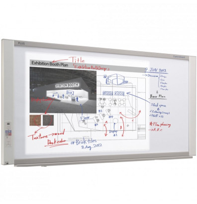 "PLUS C-20W Electronic CaptureBoard 2 surfaces w/ Network (71"" W x 36"" H)"