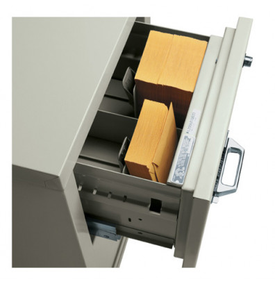 """FireKing 3-Section Insert 3"""" H x 5"""" W Cards (Shown in Parchment)"""