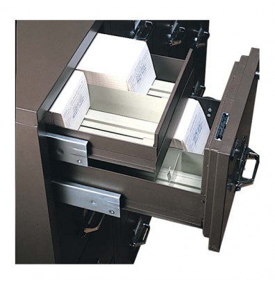 """FireKing Top Inner Drawer for 38"""" W Lateral file cabinets (Shown in Brown)"""