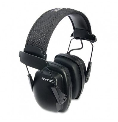 Howard Leight Sync Stereo Earmuff, 25 dB NRR