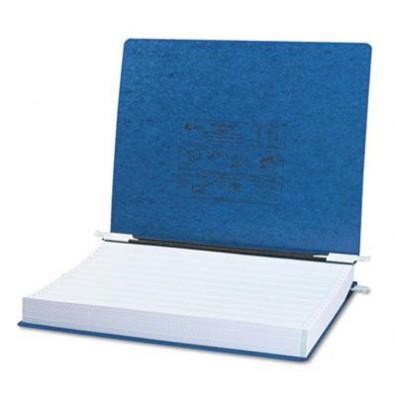 """Acco 14-7/8"""" x 11"""" Unburst Sheet Pressboard Hanging Data Binder, Dark Blue"""