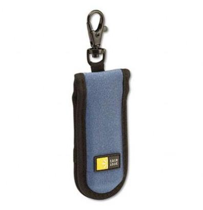 Case Logic 2-Capacity USB Drive Shuttle Case, Blue