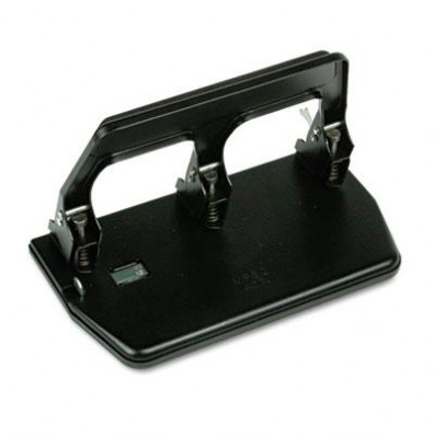 Master MP50 40-Sheet Heavy Duty 3-Hole Punch with Gel Pad Handle