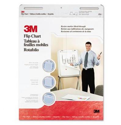 "3M Professional 25"" x 30"", 40-Sheet, 2-Pack, Unruled Flip Charts"