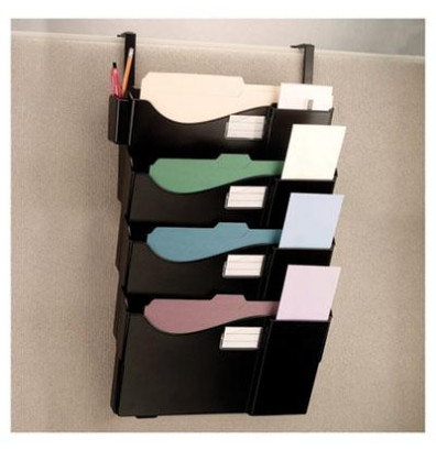 Officemate 4-Pocket Letter & Legal Cubicle Wall File