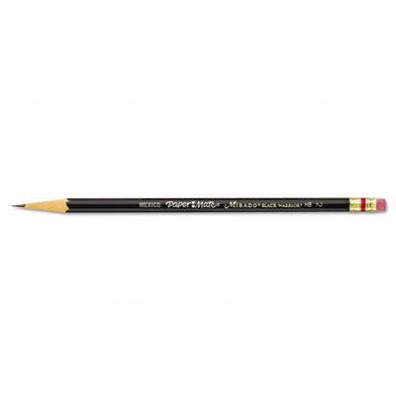 Paper Mate Mirado #2 Black Matte Woodcase Pencils, 12-Pack
