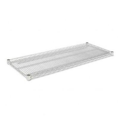 "Alera 48"" W x 18"" D 2-Pack Extra Shelves, Silver"