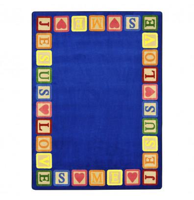 Joy Carpets Blocks of Love Classroom Rug