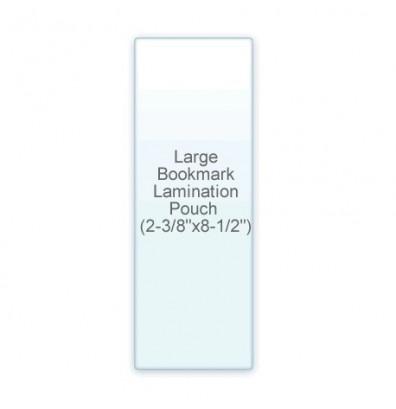 "Akiles 10 Mil Large BookMark Size 2-3/8"" x 8-1/2"" Laminating Pouches (500 pcs)"