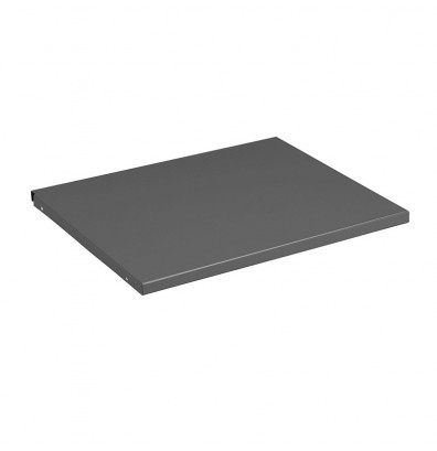 """Tennsco MBS-2124 21"""" W Extra Shelf for Right Side of Cabinet, Medium Grey"""