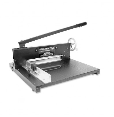 "Martin Yale 7000E 12"" Tabletop Commercial Paper Cutter"