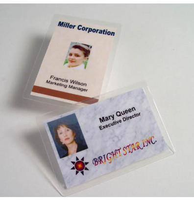 "Akiles 10 Mil Jumbo Card Size 2-15/16"" x 4-1/8"" Laminating pouches (500 pcs)"