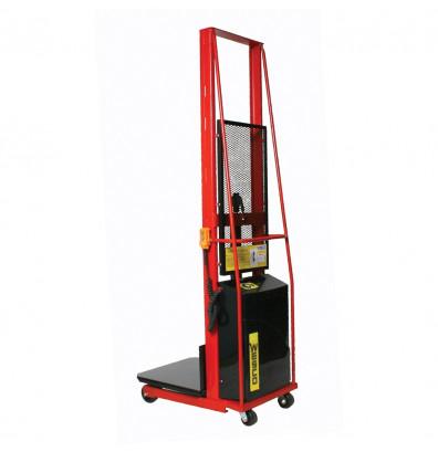 "Wesco PESPL-68-2424 68"" Lift 1000 lb Load Powered Lift Electric Platform Stacker"