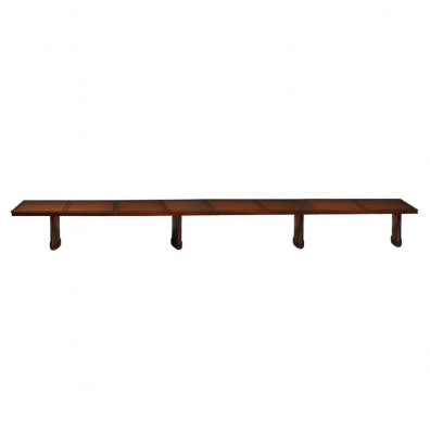 Mayline SC24 Sorrento 24 ft Rectangular Conference Table (Shown in Bourbon Cherry)