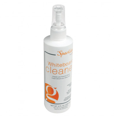 Ghent SPS8-12 Sparkleen Whiteboard Cleaner 8 oz. Spray Bottle - 12/Carton