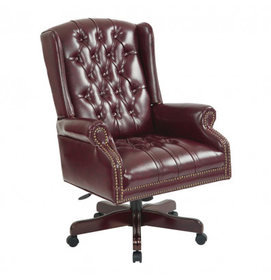 Office Star Deluxe High-Back Traditional Chair