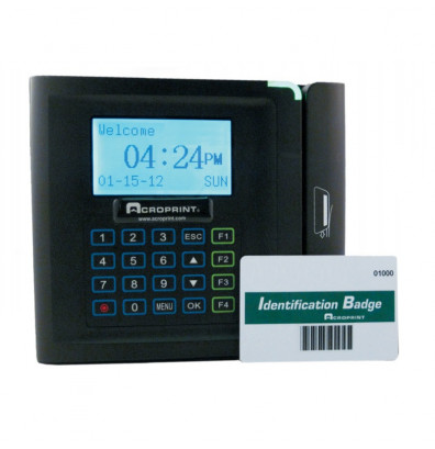 Acroprint TimeQPlus Barcode Badge System