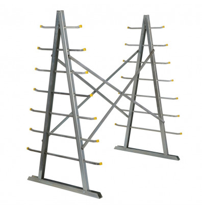 "Vestil 66"" H Self Supporting Material Rack"
