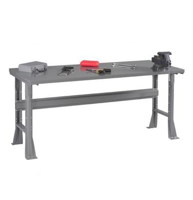 Tennsco Steel Top Fixed Leg Workbenches