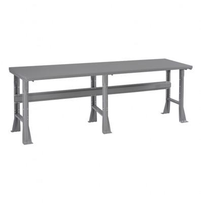 Admirable Tennsco 96 W X 36 D Steel Workbench 4000 Lb Capacity Medium Grey Ibusinesslaw Wood Chair Design Ideas Ibusinesslaworg