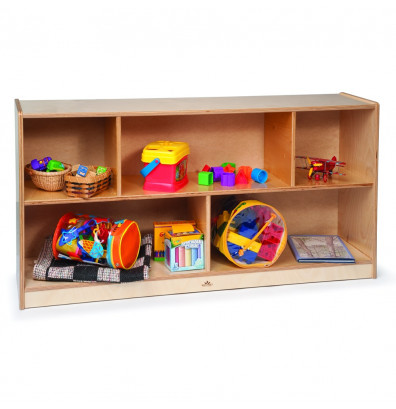 """Whitney Brothers 24"""" H 5-Section Classroom Storage Unit"""