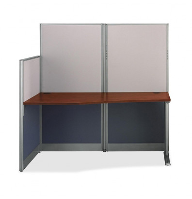 """Bush Office-in-an-Hour WC36492 65"""" W Straight Workstation"""