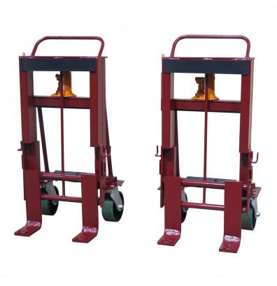 Wesco RNR-8P Rais-N-Rol 8000 lb Load Machinery Movers, Urethane Wheels